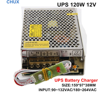 120W 12V Universal AC UPS Charge Function Monitor Switching Mode Power Supply SC120W 12