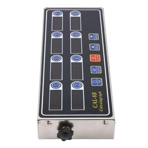CAL-8B портативный калькулятор 8 канальный цифровой таймер кухонный таймер ЖК-дисплей часы встряхивание напоминание дропшиппинг