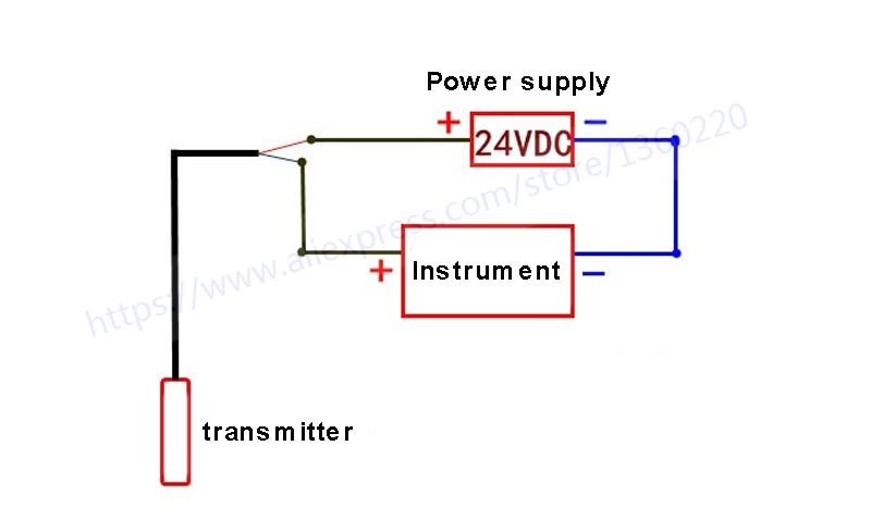 Датчик уровня жидкости 24VDC 1 м Диапазон 4-20mA DC Датчик уровня воды