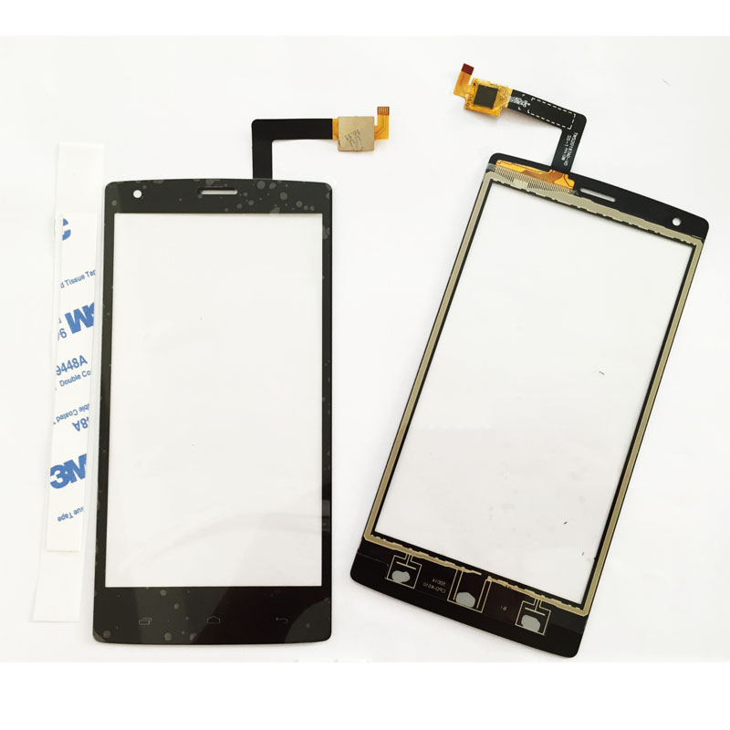 5pcs/lot,Original Touchscreen Front Glass Panel For Fly iq 4505 iq4505 quad era life 7 Digitizer Touch Screen