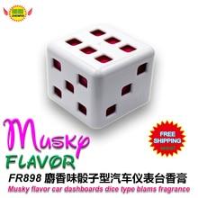 Car Accessories  musky  flavor  car instrument desk aromatic  deodorant fragrance perfume fr898  free shipping