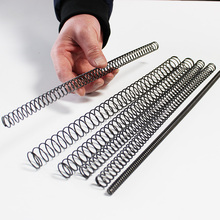 stainless steel compression springs wire diameter 1.4mm outer diameter 8mm to 25mm long 300mm цена и фото