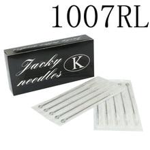 100PCS Professional Tattoo Needles 7RL Disposable Sterilze 7 Round Liner Tattoo Needles For Tattoo Body Art Supply