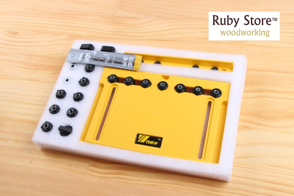 Handle, Knob And Pull Installation Jig And Shelf Pin Jig