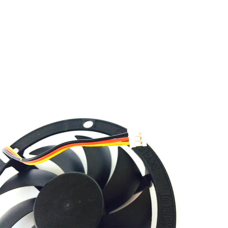Image 5 - Computer Cooling Fan 80*80*15mm 2200RPM CPU Round 12V Cooler Fans Black round box fan bracket  YL 0045-in Fans & Cooling from Computer & Office