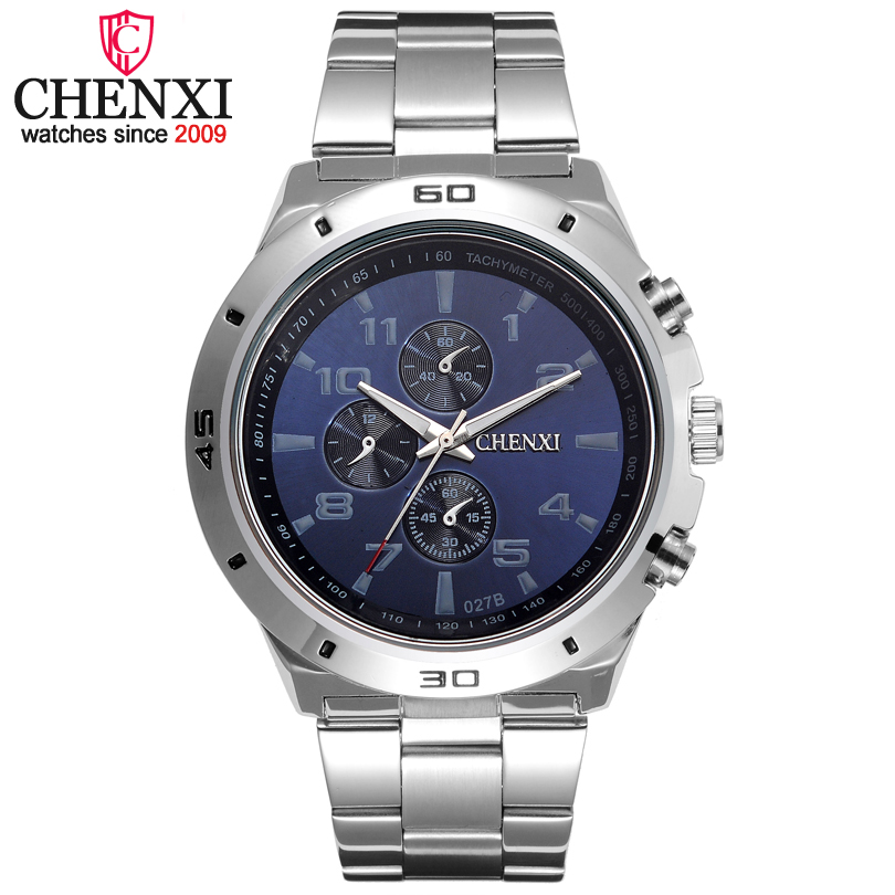 CHENXI Brand Top Original Men Watches Fashion Casual Business Male Wristwatch Stainless Steel Quartz Man Watch Relogio Masculino natate new popular men fashion quartz watch leisure business luxury chenxi brand stainless sports wristwatch 1240