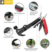 Multitool Pliers Multifunctional Hammer Outdoor Camping Survival Folding Knife Safety Car Emergency Life Woodworking Tool