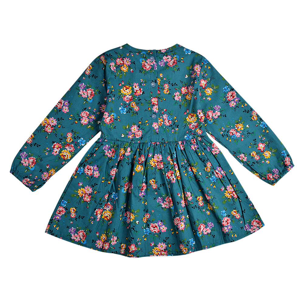 HTB1TrlwXXzqK1RjSZFoq6zfcXXaM 2019 Autumn Girl Dress Cotton Long Sleeve Children Dresses Polka Dot Kids Dresses for Girls Fashion Girls Clothing