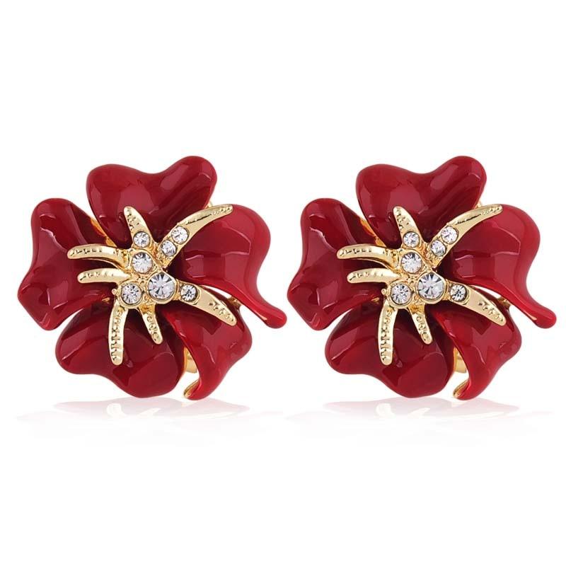 Aliexpresscom Buy Classic design redblue flowersgold color