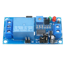 Mayitr 1pc DC 12V Time Delay Relay Module Circuit Timer Timing Board Switch Trigger High Quality 6 30v relay module switch trigger time delay circuit timer cycle adjustable