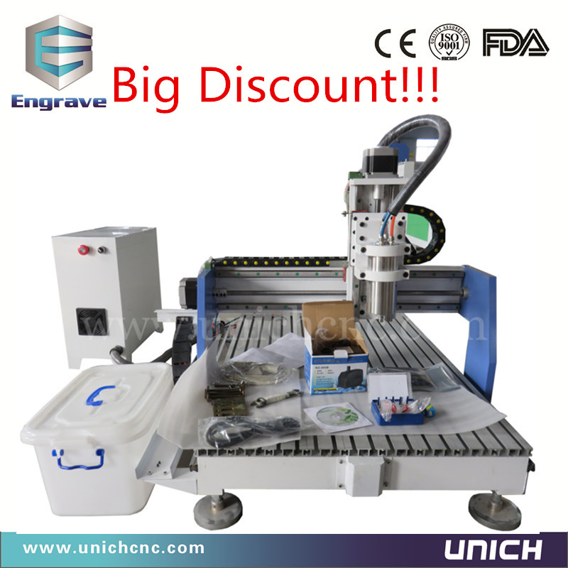 Good character Discount price cnc milling machine kit