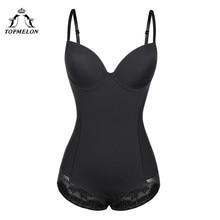 TOPMELON Sexy Lingerie Slim Silk Solid Shapewear for Women Smooth Soft Bodysuit Tummy Shaper Underwear Lingerie Black Nude