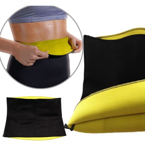 Women's Body Shaper Slimming Sweat Neoprene Sauna Shapers Slimming Belt Waist Cincher Girdle For Weight Loss Yoga Sport Belts