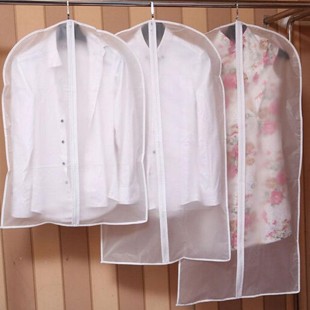 1Pcs Clothes Dust Cover Home Storage Bag for Garment Suit Dress