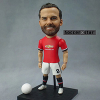 Soccerxstar Figurine Football Player Movable Dolls 8 MATA MU 2018 12CM 5in Figure BOX Include Accessories
