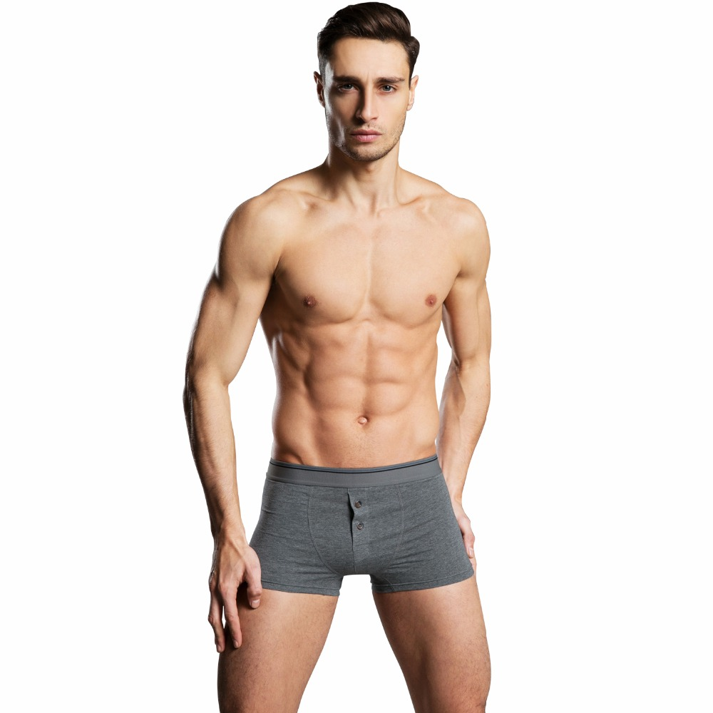 Back To Search Resultsunderwear & Sleepwears Boxers Iyunyi Men Boxer Shorts High Quality Cotton Breathable Underwear Trunks Button Front Open Mens Cuecas Underpants Panties Boxers