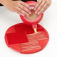 1 шт., Пищевая силиконовая форма для пальцев, формы для печенья, сделай сам, Шоколадный леденец, форма, длинная полоска, форма для печенья, противень для выпечки