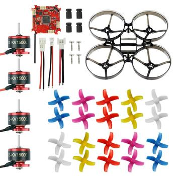 Mini Rc Drone | 75mm Mini Frame Kit & Crazybee F3  Brushless ESC SE0703 Motor 40mm  Propeller Frsky Receiver For RC Indoor BWhoop Racer Drone