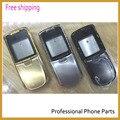 Оригинальные Замена Полный Полный Крышку Корпуса Чехол для Nokia 8800 Sirocco Корпус с логотипом Золото/Черный/Серебристый