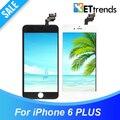 10 ШТ./ЛОТ Класса AAA ЖК для iPhone 6 plus ЖК-дисплей полный ЖК-Экран и Дигитайзер с Холодного Отжима Каркасные DHL Бесплатно корабль