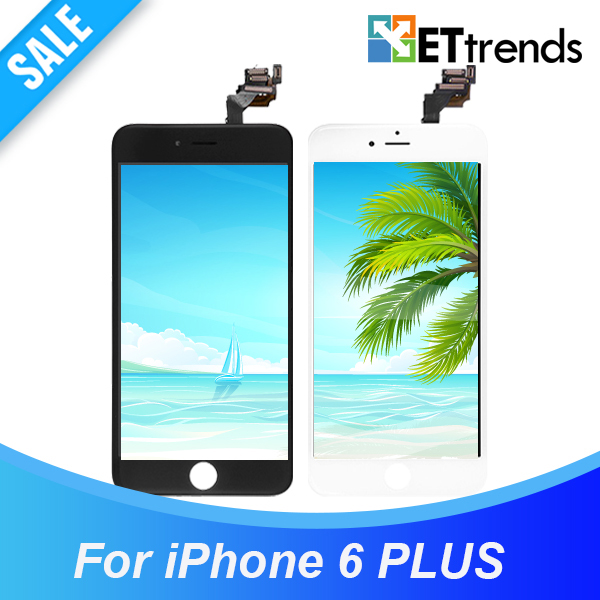 10PCS LOT Grade AAA LCD for iPhone 6 plus LCD display Complete LCD Screen Digitizer with