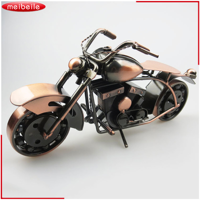 1:8 Harley-Davidson Metal Motorcycle Model Diecast Moto Modeling Kids Toys Collection Gifts Retro Simulation Crafts Decoration maisto jeep wrangler rubicon fire engine 1 18 scale alloy model metal diecast car toys high quality collection kids toys gift
