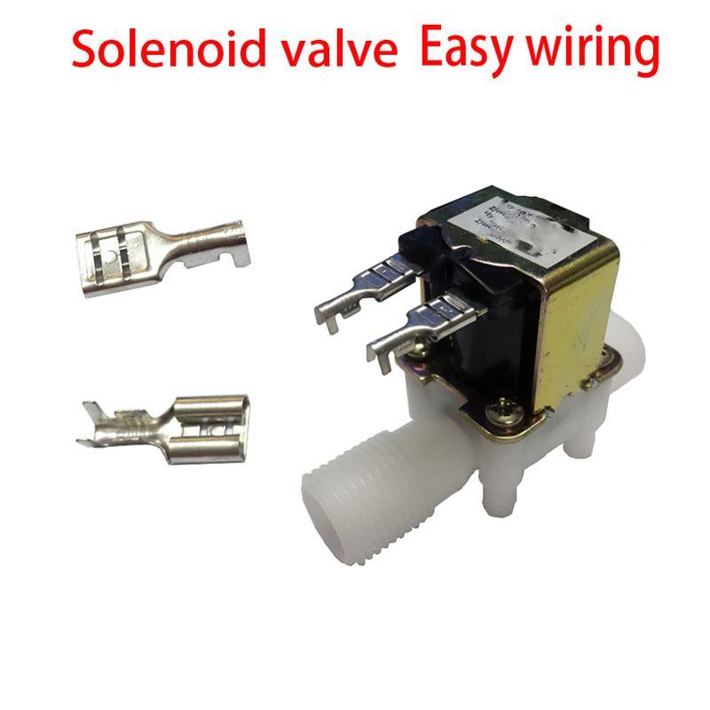 20pcs Easy wiring Screw Terminal For 3/4 DC 12V 24V or AC220V 1/2 Electric Solenoid Valve Normally Closed N/C