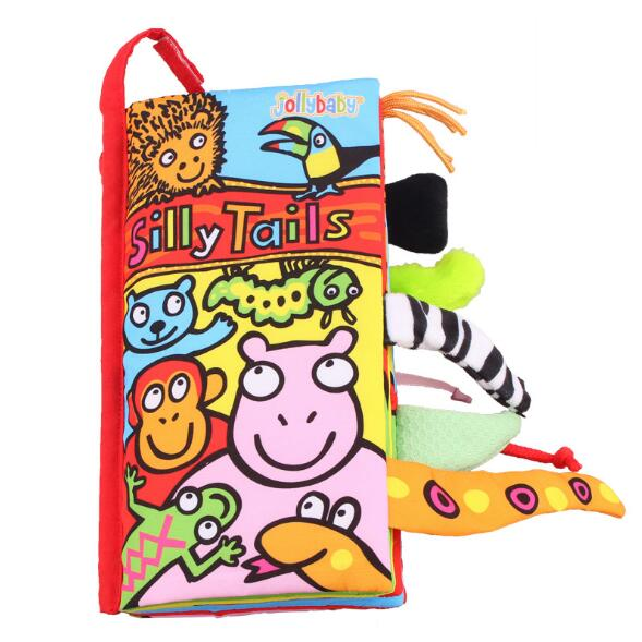 Baby-Toys-Infant-Kids-Early-Development-Cloth-Books-Learning-Education-Unfolding-Activity-Books-Animal-Tails-Style-SZ04-4