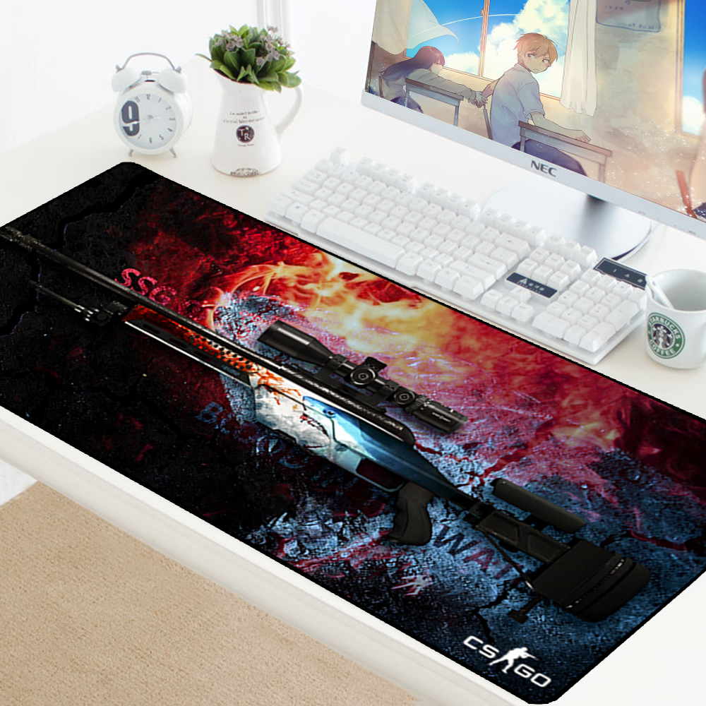 Image 2 - Large Game Mouse Pad Mat Laptop Gaming Mousepad Anti slip Natural