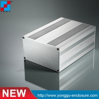 145 82 Nmm W H L Chinese Manufacture Extruded Aluminum Electronic Enclosure And Wall Mounted Project