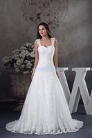 free shipping 2016 new handmade custom size bride ever pretty plus size dresses lace appliques wedding dress with beaded bust