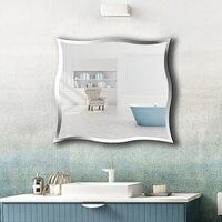 A1 настенный Безрамное Зеркало для ванной персонализированные Туалет туалетный зеркало настенное наклейки косметика зеркало wx8231015