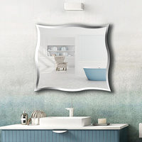 A1 настенный Безрамное Зеркало для ванной на заказ туалет туалетная зеркало наклейки на стену с зеркалом для макияжа wx8231015