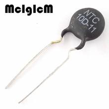 MCIGICM 50pcs NTC Thermistor Resistor NTC 10D 11 Thermal Resistor