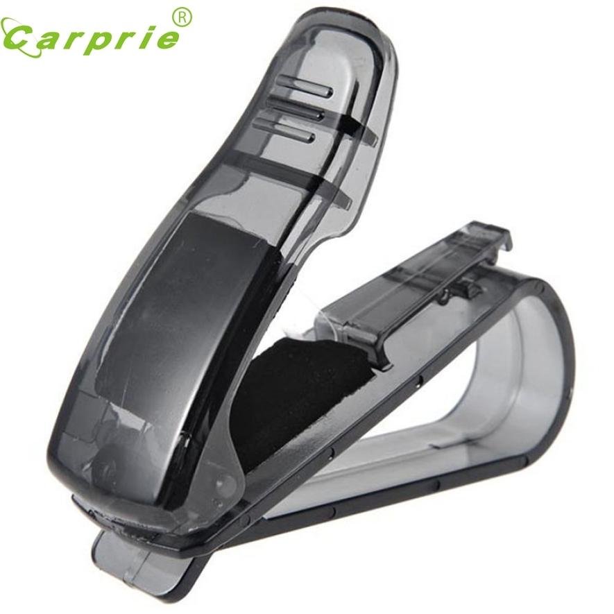 Offen Neue Auto Fahrzeug Sonnenblende Sonnenbrille Brillen Gläser Ticket Empfang Karte Ticket Lagerung Halter Zubehör Auto-styling Ap18