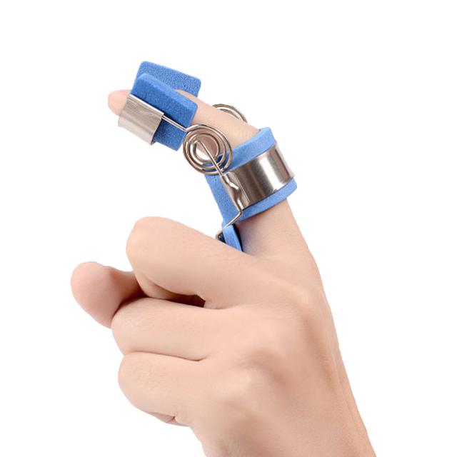 Finger Jiont Entrenadores Espasmo Ortesis Splint Función Fracción de Recuperación de Flexión Y Extensión de Rehabilitación Ictus