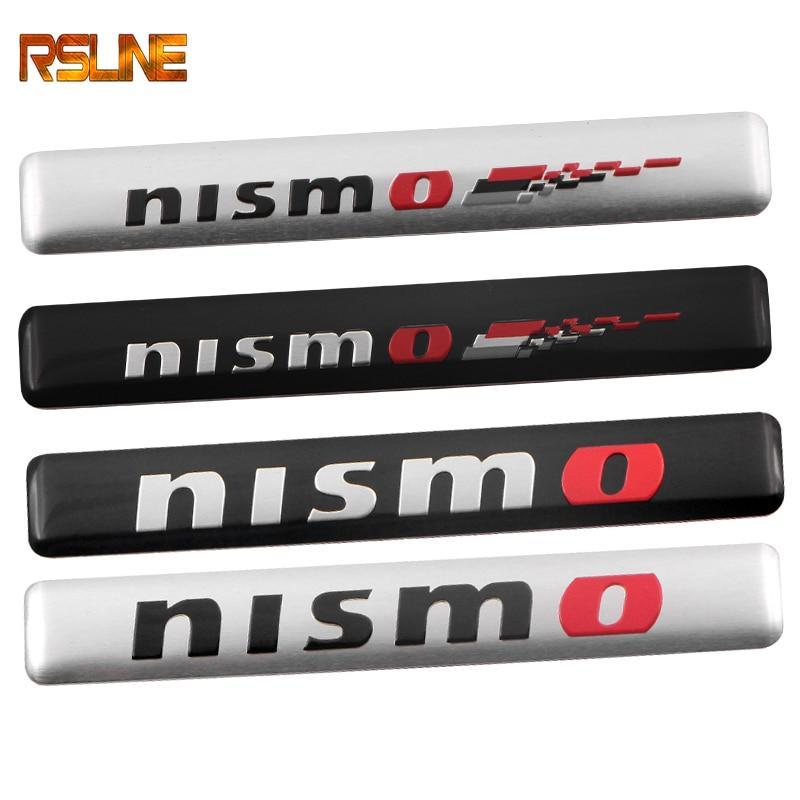1PCS NISMO AInterior Decorative Auto Car Stickers Emblem Badge Wheel Decal For Nissan Tiida Teana Skyline Juke X-trail Almera