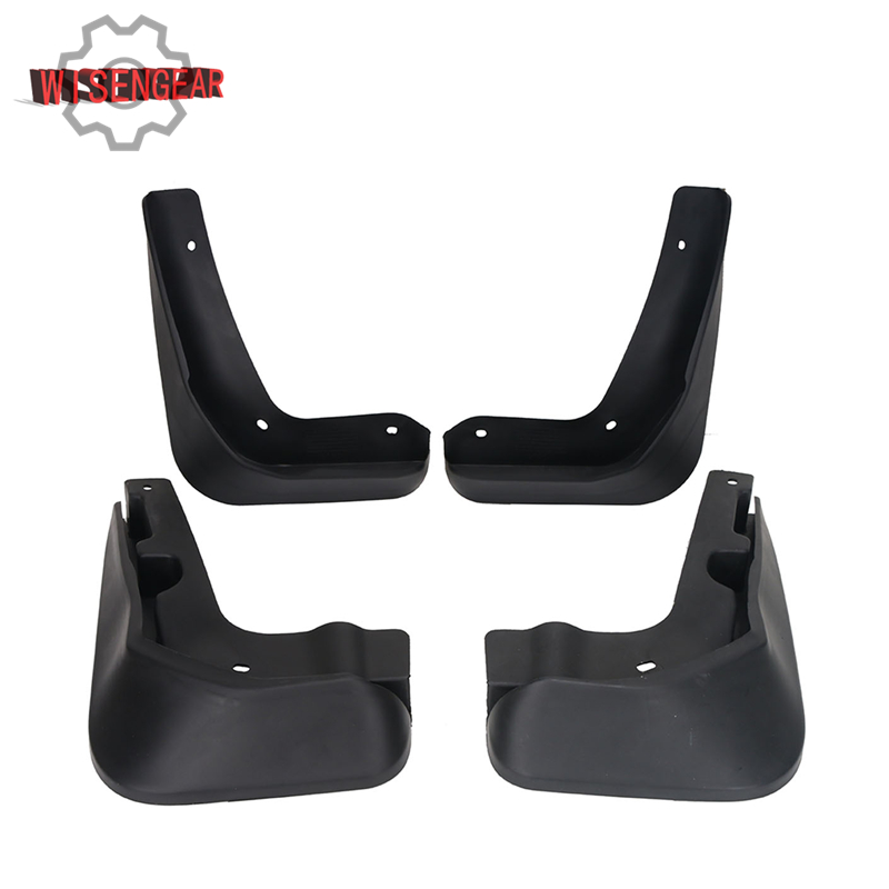 Rubber Mud Flaps For Ford Focus ST RS SE Titanium Hatch 2012 Car Exterior Front & Rear Molded Splash Guards Mudguards RA011 for ford explorer 2013 2018 plastic more fashion front rear mud guard mudguards splash flaps cover protector trim 4 piece