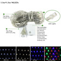 led string light 1.5M X 1.5M 96led AC220V holiday led lighting waterproof outdoor decoration light christmas light