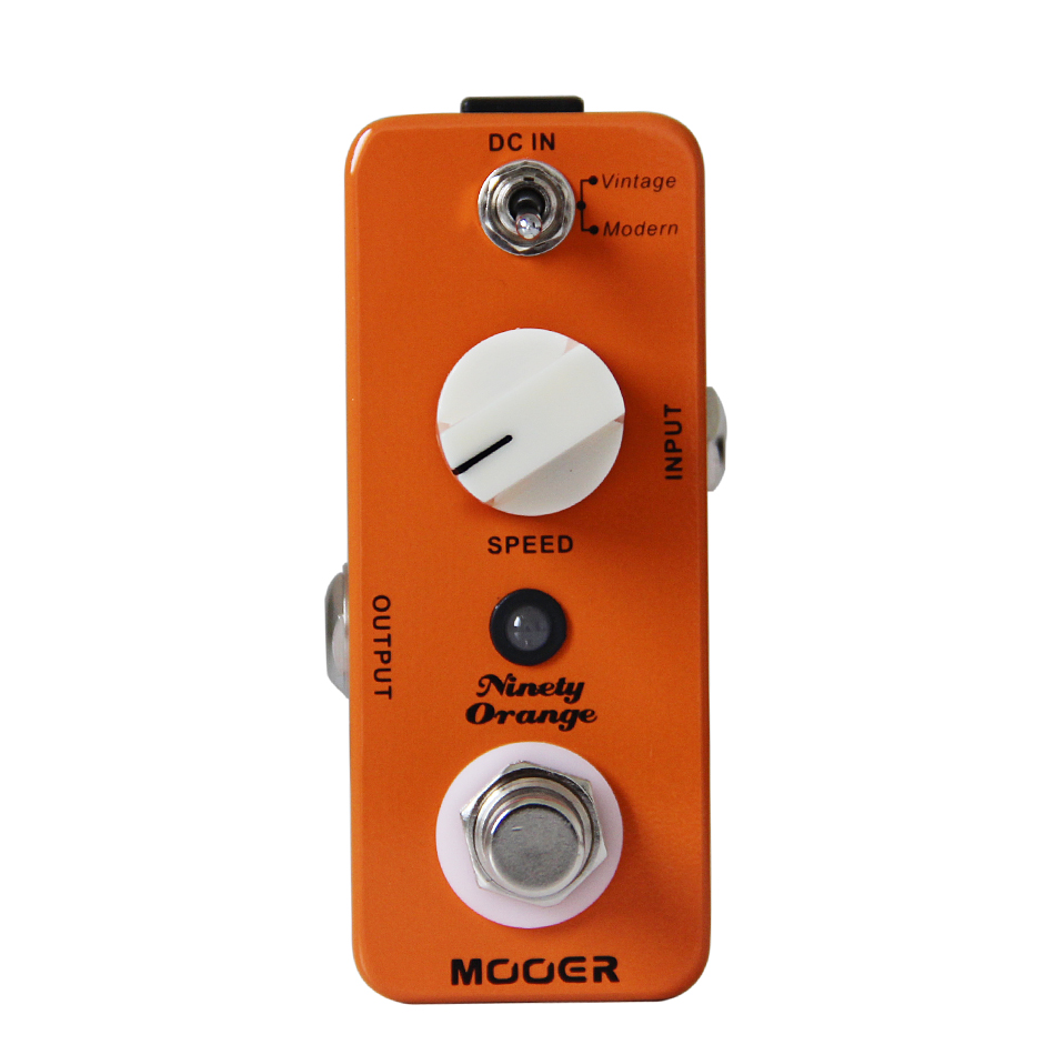 NEW Effect Guitar Pedal MOOER Ninety Orange pedal Effects Modes 2 Vintage Modern