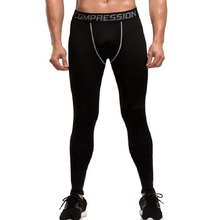 Men Compression Pants Sport Wear Jogging Pants Male Sports Leggings Training Trousers Gym Running Tights
