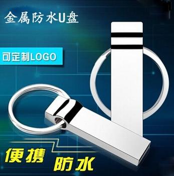 Waterproof Metal 64GB USB Flash Drive metal pen drive 8GB 16GB 32GB stick pendrive flash usb high speed