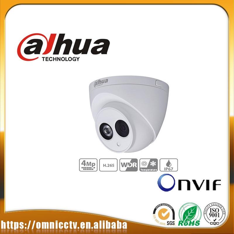 Dahua CCTV POE 4MP IP Camera IPC-HDW4431C-A IR 50m Built-in Mic H265 IP67 ONVIF WDR Night version Surveillance Dome Camera ipc 9600 cctv tester ip