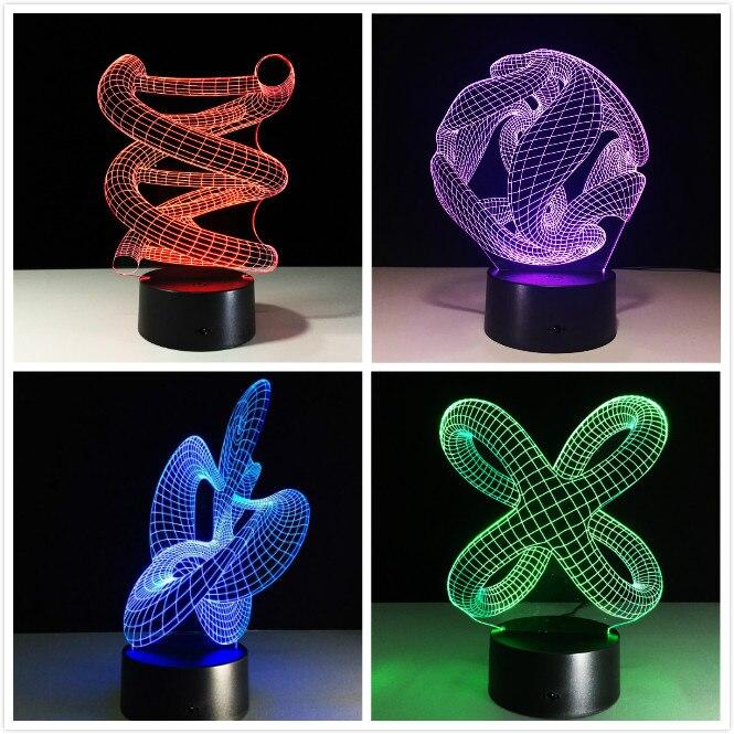 Luzes da Noite table ilusão decorativa lâmpada de Fonte de Luz : Smd Leds