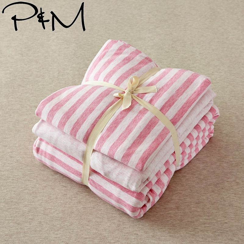 Papa&Mima 100 knitted Cotton Bedding set Janpan Style Linens (fitted sheet +pillowcase+Duvet Cover) Papa&Mima 100 knitted Cotton Bedding set Janpan Style Linens (fitted sheet +pillowcase+Duvet Cover)