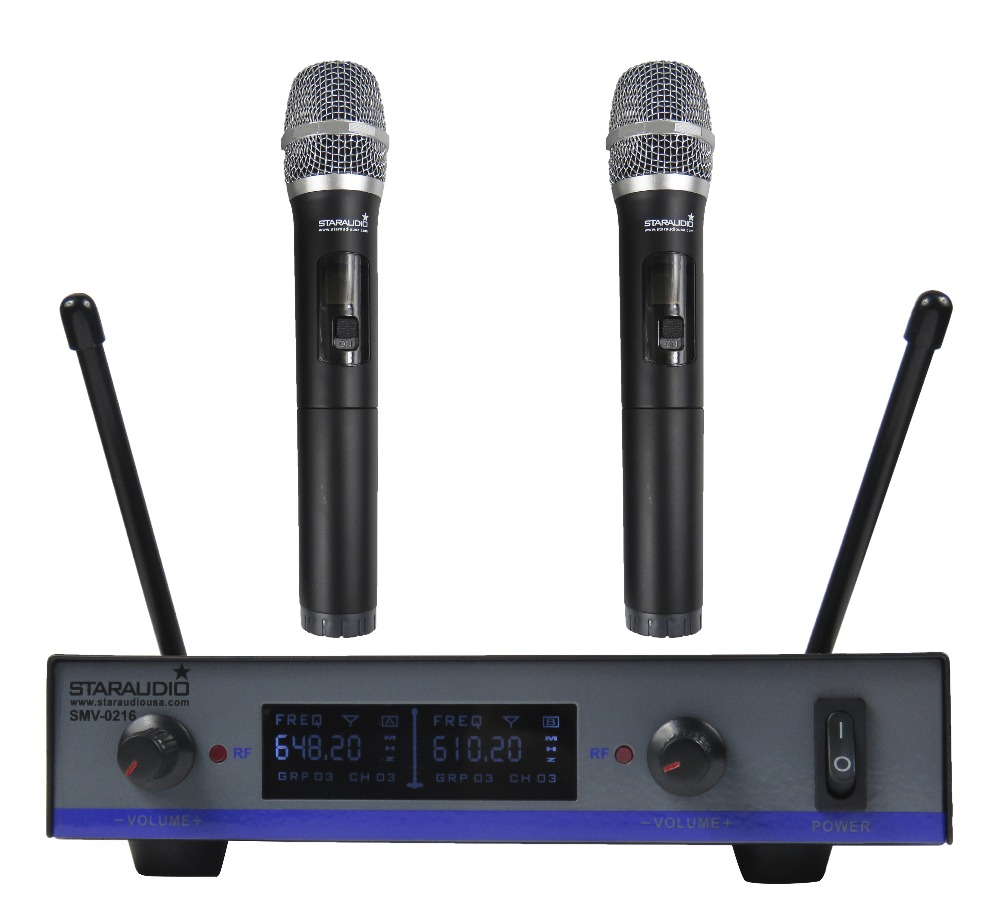 STARAUDIO  Professional 2CH UHF Dynamic Wireless DJ Stage Church Club Party Karaoke Handheld Microphone System  SMU-0216A towards chereme based dynamic sign language gesture recognition system