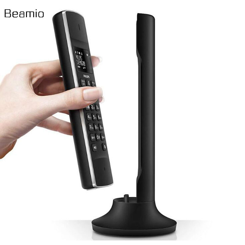 DECT 6.0 Digital Cordless Telephone With Call ID Stand-alone Wireless Landline Continental Fixed Phone for Home Office