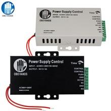 12VDC 3A/5A Interruttore di Alimentazione Controller AC90V 260V per Tutto Elettrico Serratura Della Porta con il Tempo di Ritardo Nero K80 di Accesso sistema di controllo