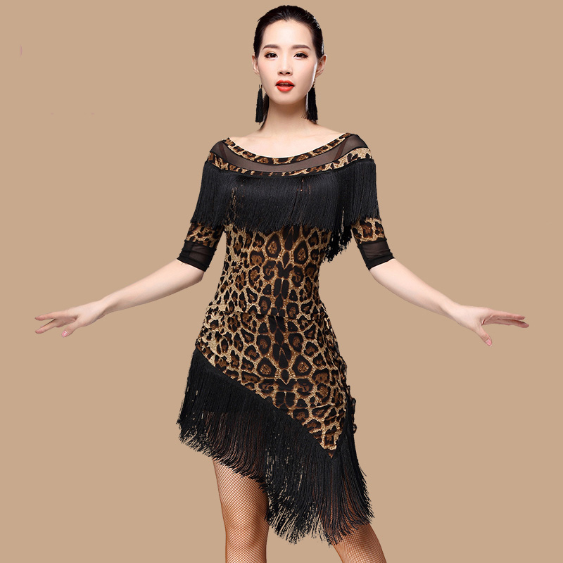 Good Quality Latin Dance Dresses for Ladies Multi Color Flamenco Costume Women Ballroom Professional Samba Tango Clothes N1042