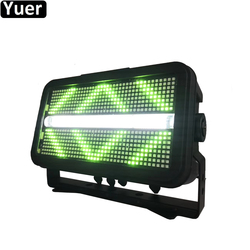 Snelle Verzending 1400W LED Strobe Licht Voor DJ Disco KTV Party Flitslicht Muziek Stage Club Licht RGBW Kleur mengen Blinder Effect